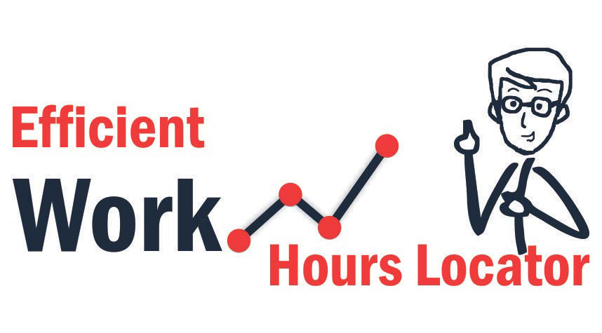 Effective Working Hours Locator of Web-EDGE